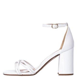Γυναικεία Πέδιλα 21 215 Eco Leather Λευκό Sante