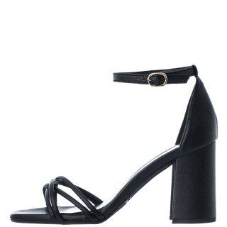 Γυναικεία Πέδιλα 21 215 Eco Leather Μαύρο Sante
