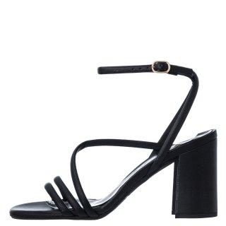 Γυναικεία Πέδιλα 21 216 Eco Leather Μαύρο Sante