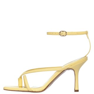 Γυναικεία Πέδιλα 21 229 Eco Leather Κίτρινο Sante