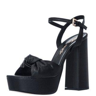 Γυναικεία Πέδιλα 21 253 Eco Leather Μαύρο Sante