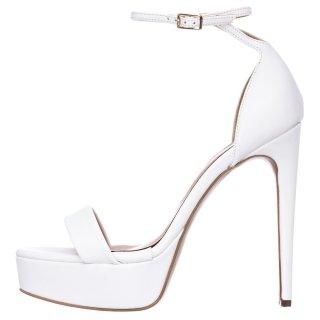 Γυναικεία Πέδιλα 21 268 Eco Leather Λευκό Sante