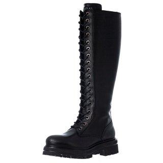 Γυναικείες Μπότες 20 410 Δέρμα Μαύρο Sante Day2Day