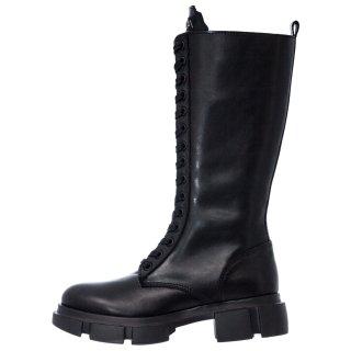 Γυναικείες Μπότες 20 413 Δέρμα Μαύρο Sante Day2Day