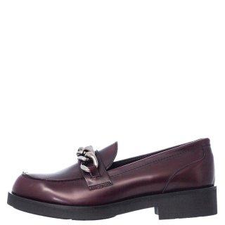 Γυναικεία Μοκασίνια 20 417 Eco Leather Μπορντώ Sante Day2Day