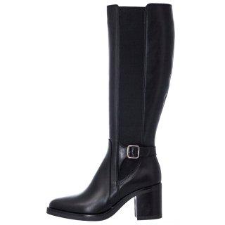 Γυναικείες Μπότες 20 441 Δέρμα Μαύρο Sante Day2Day