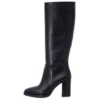 Γυναικείες Μπότες 20 448 Δέρμα Μαύρο Sante Day2Day