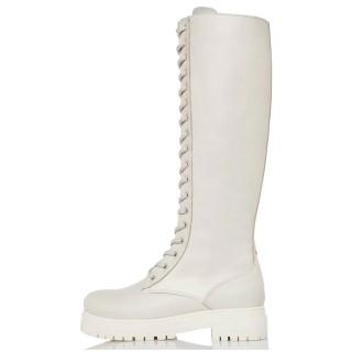 Γυναικείες Μπότες 21 415 Δέρμα Offwhite Sante Day2Day