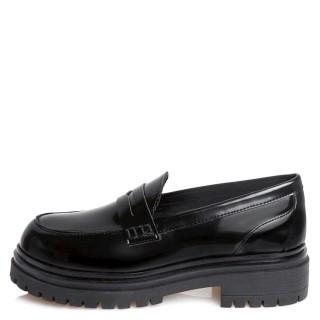 Γυναικεία Μοκασίνια 21 416 Φλωρεντίκ Eco Leather Μαύρο Sante Day2Day