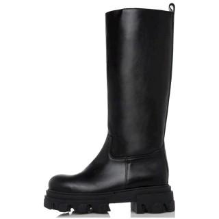 Γυναικείες Μπότες 21 423 Eco Leather Μαύρο Sante Day2Day