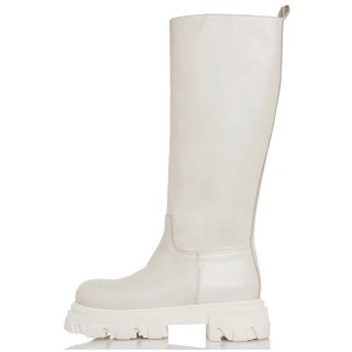 Γυναικείες Μπότες 21 423 Eco Leather Offwhite Sante Day2Day