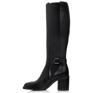 Γυναικείες Μπότες 21 441 Δέρμα Μαύρο Sante Day2Day