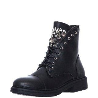 Γυναικεία Μποτάκια 10967 69 Eco Leather Μαύρο Seven