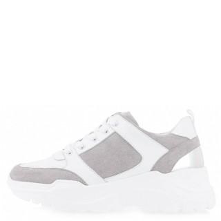 Γυναικεία Sneakers 50 21ΕΧ15 Eco Leather Eco Suede Λευκό Seven