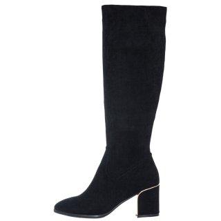Γυναικείες Μπότες 675 SEV XJ1162 HY1410 Eco Suede Μαύρο Seven