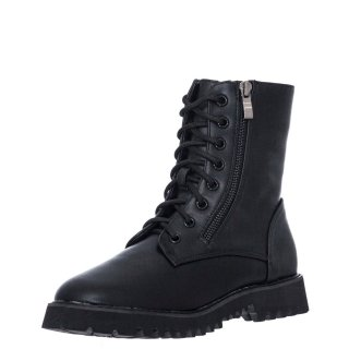 Γυναικεία Μποτάκια GG006 Eco Leather Μαύρο Seven