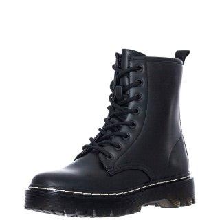 Γυναικεία Μποτάκια HX18056 30A Eco Leather Μαύρο Seven