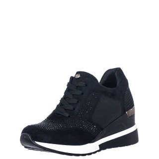 Γυναικεία Sneakers RG2203 Eco Suede Μαύρο Seven