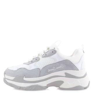 Γυναικεία Sneakers SHN007 03 Eco Suede Πάγος Seven