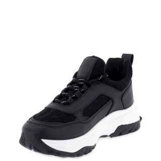 Γυναικεία Sneakers TS2020093001 Eco Leather Μαύρο Seven