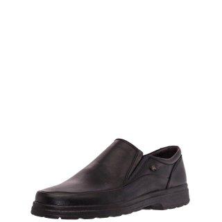 Ανδρικά Casual Παπούτσια 3064 Δέρμα Μαύρο Softies
