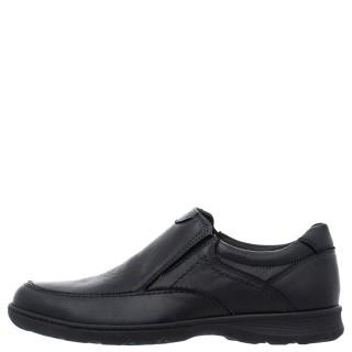 Ανδρικά Casual Παπούτσια 6174 1059 Δέρμα Μαύρο Softies