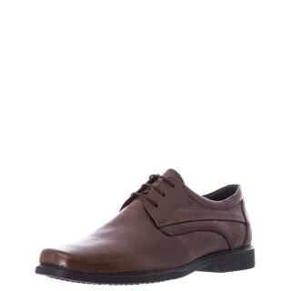 Ανδρικά Casual Παπούτσια 6813 Δέρμα Καφέ Softies