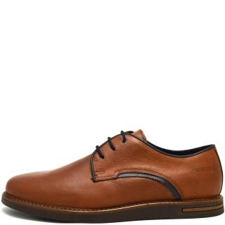 Ανδρικά Casual Παπούτσια 6971 Δέρμα Ταμπά Softies
