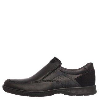 Ανδρικά Casual Παπούτσια 6987 Δέρμα Μαύρο Softies