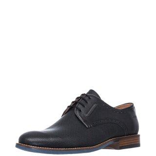 Ανδρικά Casual Παπούτσια 6995 Δέρμα Μαύρο Softies