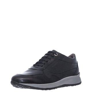 Ανδρικά Sneakers 212194 STORM1 CALF Δέρμα Μαύρο Stonefly