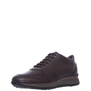Ανδρικά Sneakers 212194 STORM1 CALF Δέρμα Καφέ Stonefly