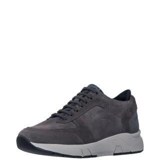 Ανδρικά Sneakers 212218 5XQ ACTION 1 Δέρμα Nubuck Γκρι Stonefly