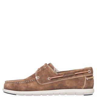 Ανδρικά Boat Shoes 213724 SANTIAGO Δέρμα Καστόρι Πούρο Stonefly