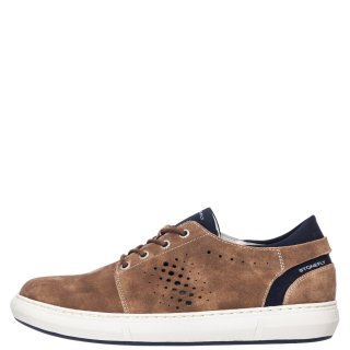Ανδρικά Sneakers 213769 RAPID Δέρμα Καστόρι Πούρο Stonefly