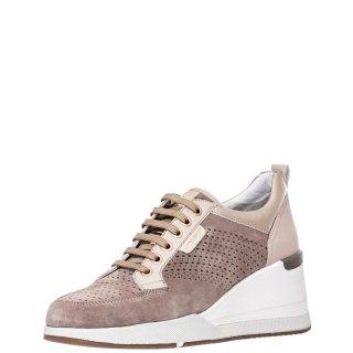 Γυναικεία Sneakers 213939 ELLA Δέρμα Δέρμα Καστόρι Πούρο Stonefly