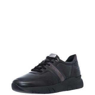 Ανδρικά Sneakers 214521 M99 ACTION11 Δέρμα Μαύρο Stonefly