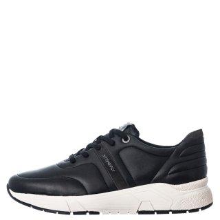 Ανδρικά Sneakers 214521 000 ACTION11 Δέρμα Μαύρο Stonefly