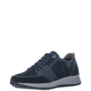 Ανδρικά Sneakers 214524 STORM2 Δέρμα Δέρμα Καστόρι Μπλέ Stonefly