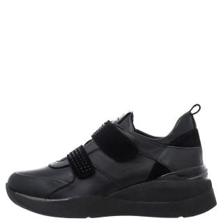 Γυναικεία Sneakers 216949 000 ELETTRA 26 Δέρμα Μαύρο Stonefly