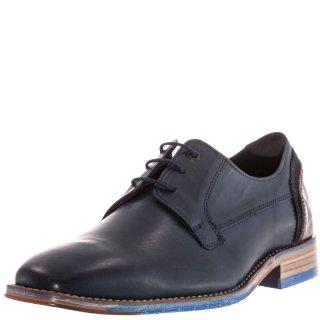 Ανδρικά Casual Παπούτσια 14754 Δέρμα Μπλέ TXT