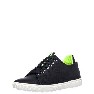 Ανδρικά Sneakers H3077 Eco Leather Μαύρο TXT