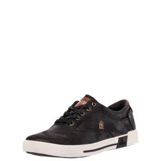 Ανδρικά Sneakers J 2822JKA 1 Eco Leather Μαύρο JK London