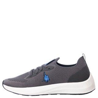 Ανδρικά Sneakers H043 MAX 4045 Ελαστικό Ύφασμα Γκρι USA POLO SPORT