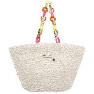 Γυναικείες Τσάντες 19.205 Beach Bag Pony Skin Λευκό Uzurii