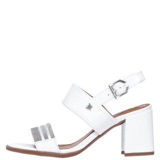 Γυναικεία Πέδιλα WL01590A THALIA HOLY Δέρμα Eco Suede Λευκό Wrangler