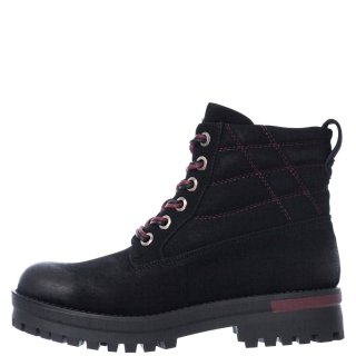 Γυναικεία Μποτάκια WL02613A VERMONT COZY LACE Eco Leather Μαύρο Wrangler