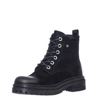 Γυναικεία Μποτάκια WL02634A COURTNEY Eco Leather Μαύρο Wrangler
