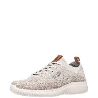 Γυναικεία Sneakers WL11530A FREESBEE LACE Ελαστικό Ύφασμα Μπεζ Wrangler