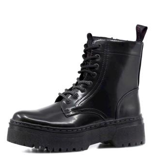 Γυναικεία Μποτάκια WL12581A PICCADILLY HI Eco Leather Μαύρο Wrangler